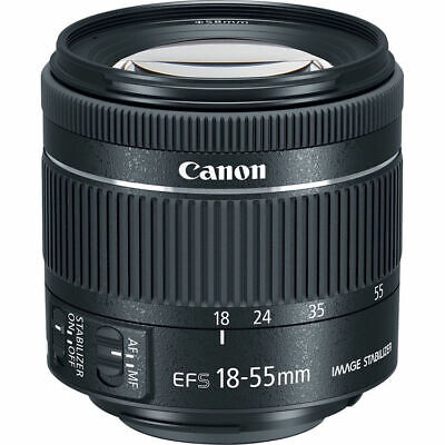 Canon EF-S 18-55mm f/3.5-5.6 IS STM Zoom Lens (Size Packaging)