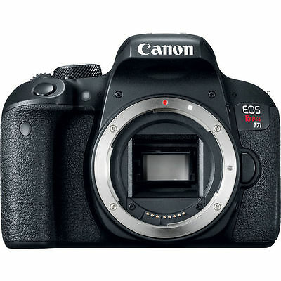 Canon EOS Flout T7i Digital SLR Camera - Black (Substance Only) NEW!