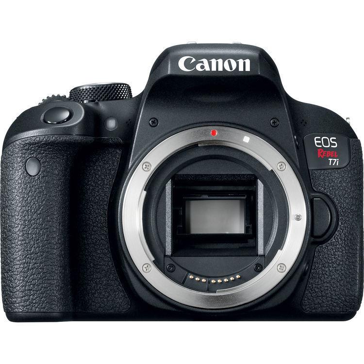Canon EOS Rebel T7i Digital SLR Camera - Black (Body Only) NEW!