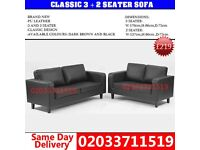 Classic 3 nd 2 seater sofa Bowman
