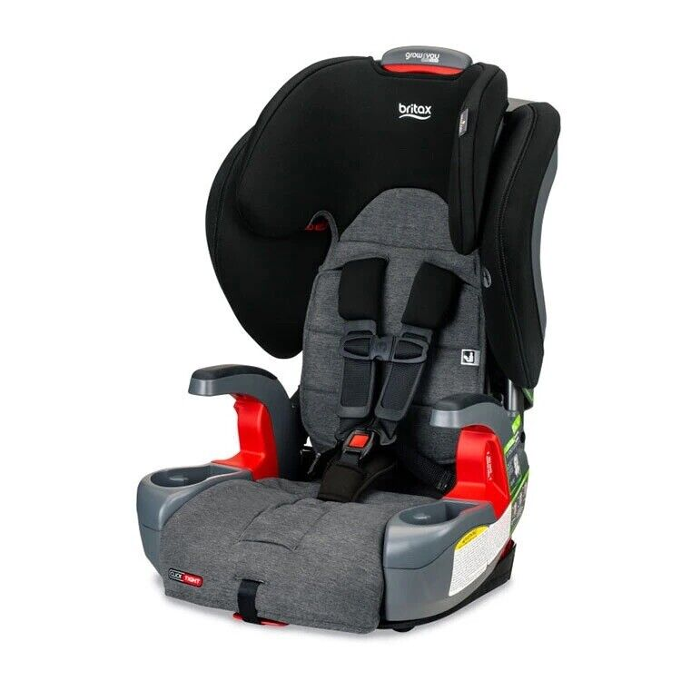 Britax Grow With You ClickTight Child Booster Car Seat StayClean Stainless