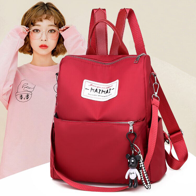 Oxford Women Backpack Fashion Female Bagpack Schoolbag for T