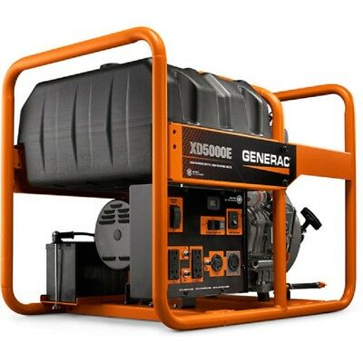 New Generac 5000 Watt Generator Diesel Engine Recoilelectric Start