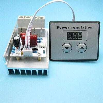 10000w Thyristor High Power Electronic Digital Voltage Regulator Cnc Speed Tempe