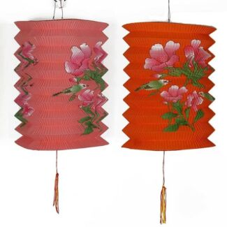 Mid-Autumn Festival Colourful Paper Lanterns for Sales - 10 pieces