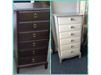 WANTED stag minstrel furniture console thin drawers