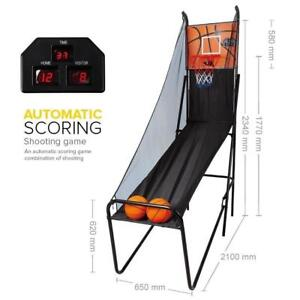 Foldable Electric Basketball Scoring Machine / Basketball Shooting Game (NEW)