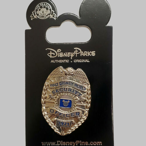 WALT DISNEY WORLD - SECURITY BADGE - COLLECTIBLE PIN - BRAND NEW - DISNEY HP613