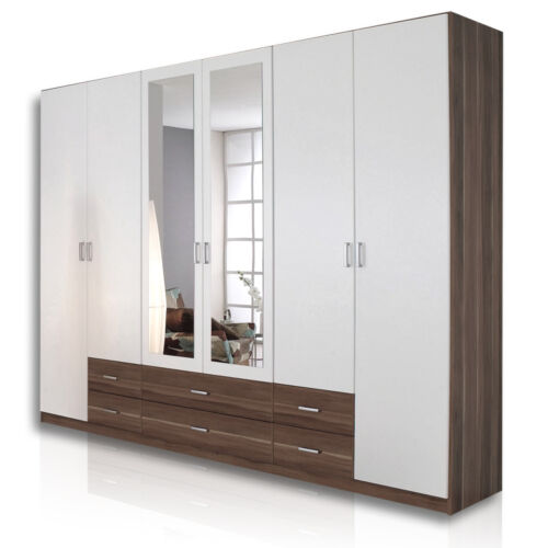 roller kleiderschrank gamma schlafzimmerschrank garderobenschrank ebay. Black Bedroom Furniture Sets. Home Design Ideas