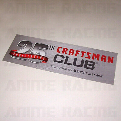 1 #3910 3.75 Craftsman Tools Saw Drill Decal Sticker Laminated!
