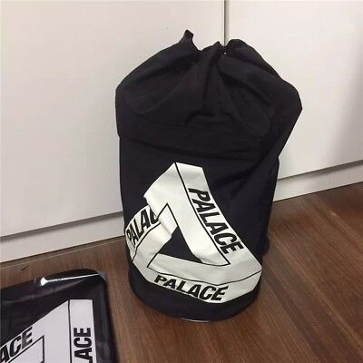 Brand New Palace Skateboards Bag Sack BENEDON SACK Black 2016 A/W Nylon Cordura