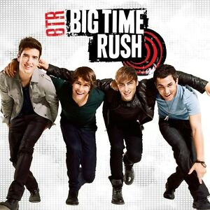 BIG TIME RUSH BTR CD BRAND NEW B.T.R. Debut Album