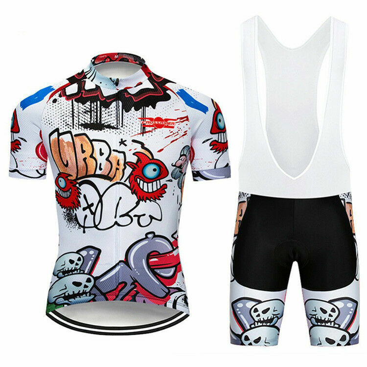 Funny Cycling Jersey and  Bib Short Set (New with tags - 18.99 USD)