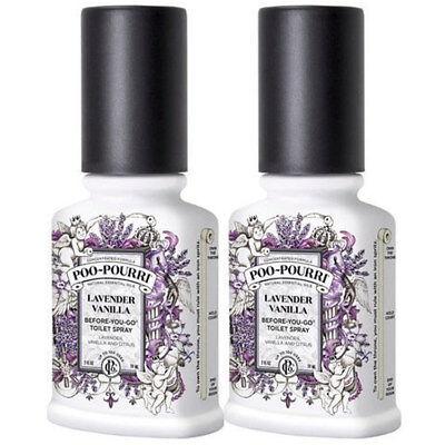 Poo-Pourri Lavendar Vanilla 2 x 2oz Pack (Amazon & eBay Only)