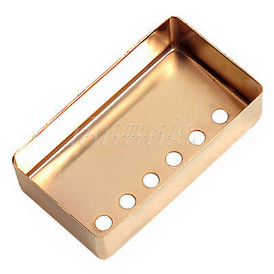 metal guitar humbucker pickup cover 52mm pole space gold chrome black for gibson ebay. Black Bedroom Furniture Sets. Home Design Ideas