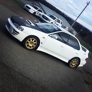 1997 jdm sti  ** Alberta car just brought to n.s this month**