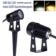 """LED Gartenstrahler /""""Werios/"""" 12V AC mit Erdspiess, Leuchtmittel wechselbar"""