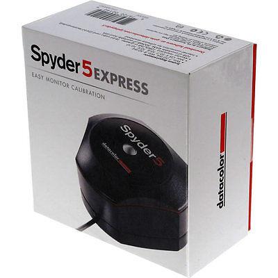 Datacolor Spyder5Express S5X100 Easy Monitor Calibration *NEW* Spyder5 Express