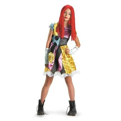 Costumes For Tweens Girls (Nightmare Before Christmas Tween Sally Costume for Girls | Disguise)