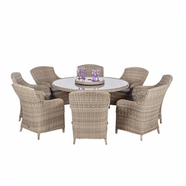 Garden Furniture Gumtree royalcraft wentworth 8 chair garden furniture | in liverpool
