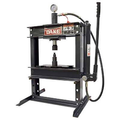 New Dake 972200 B-10 Bench 10-ton Manual H-frame Press