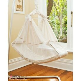 Baby Hammock with Carry Bag. Portable. Cot. Bed. Used. Great Condition