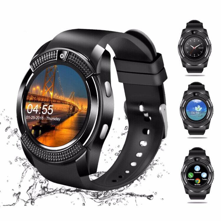Smartwatch Bluetooth Armbanduhr Android Samsung Huawei Fitness Schrittzähler 8