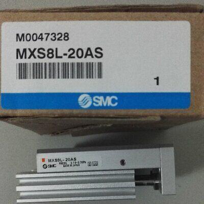 1pc New Smc Mxs8l-20as Precision Slide Cylinder In Box Spot Stock