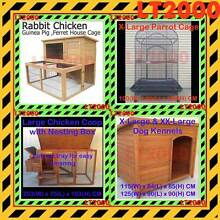 Rabbit Hutches, Bird Cages, Chicken Coop and Dog Kennels Rosewater Port Adelaide Area Preview