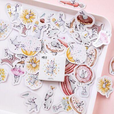 Rabbit Sticker Kawaii Sticker Pack Memo Pad Planner Diary Office Stationery Kids