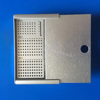 Fine Bone Screws Case Rack Ha1.5 2.0 2.7mm Veterinary Orthopedics Instruments