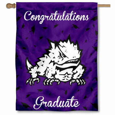 Texas Christian University Graduation Gift Decorative