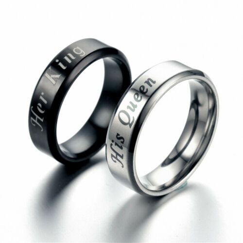 Rings Couple Steel Engagement Wedding Forever Cheap Ring Tit