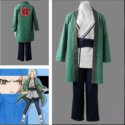 Tsunade Cosplay Kostüm (Anime BNaruto Tsunade Full Set Uniform Cosplay Costume Women Clothes Custom Made)