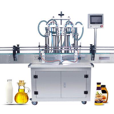 5-1000ml Four Head Liquid Filling Machine Mineral Bottle Water Filling Machine
