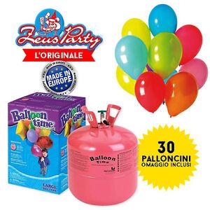 BOMBOLA-GAS-ELIO-GONFIAGGIO-30-PALLONCINI-30-PALLONCINI-OMAGGIO