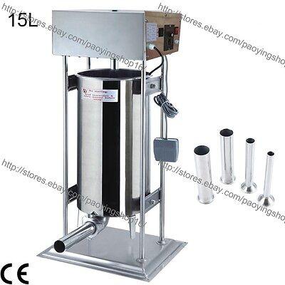 15l Electric Auto Sausage Filler Sausage Stuffer Sausage Salami Maker Machine