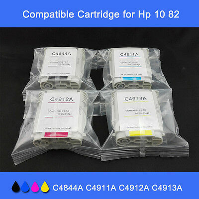 Refillable Ink Cartridge 82 10 For Hp Designjet 100 500ps 800 120ps 50 815 Cy