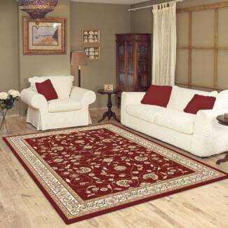 TRADITIONAL CARPET-RUNNER-RUG-160CM X 230CM-COLOR-CHERRY(10887) Seven Hills Blacktown Area Preview