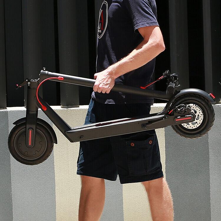 "Faltbar Elektroroller 8,5"" Räder Tretroller E-Scooter 25Km/h 250W LCD Aluminium"