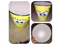 Spongebob hard bedroom bin