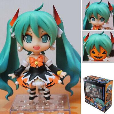 Anime Nendoroid 448# Hatsune Miku Halloween Ver. PVC Action Figure Toy In Box](Nendoroid Hatsune Miku Halloween)