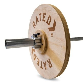 ALUMINIUM TECHNIQUE OLYMPIC BAR W/ WEIGHT PLATES AND COLLARS