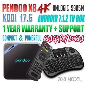 OEM Pendoo X8 Mini KODI 17.6 S905W Android 7.1.2 TV Box (The most Powerful Ever)