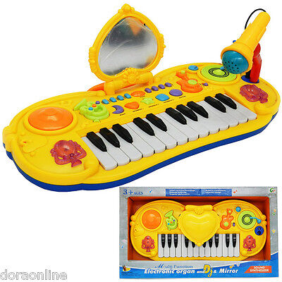 Kids  Key Electronic Keyboards Piano Organ Musical Instruments With Mic