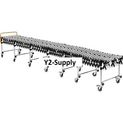New Portable Flexible Expandable Conveyor-steel Skate Wheels-24 Wide