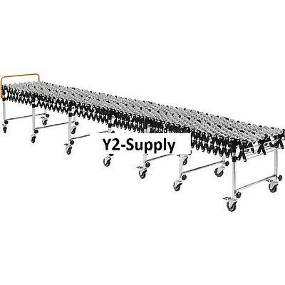 New Portable Flexible Expandable Conveyor-steel Skate Wheels-24 Wide