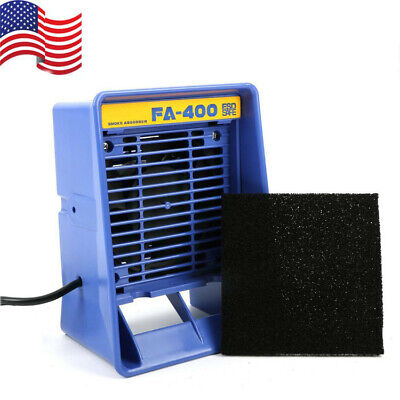 110v Fa-400 Solder Iron Smoke Absorber Esd Fumes Smoking Extractor Equipment