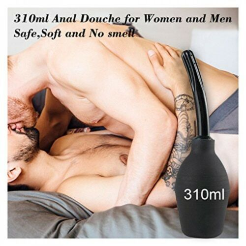310ml Anal Vaginal Bulb Douche Colonic Irrigation Rubber Enema Bag Cleaner US