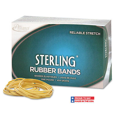 Alliance Sterling Rubber Bands 107 7 X 58 50 Bands1lb Box
